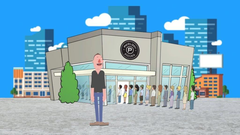 Cartoon Animator Example-Pieology